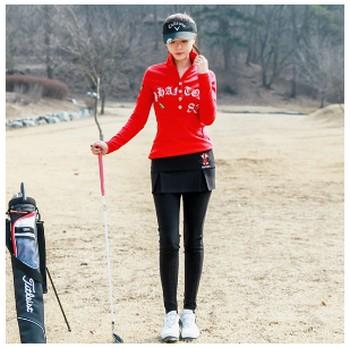 MIICは、韓流ゴルフファッションのプライベートブランドです! MIICは、年齢を問わずお似合いのコーデが可能です!